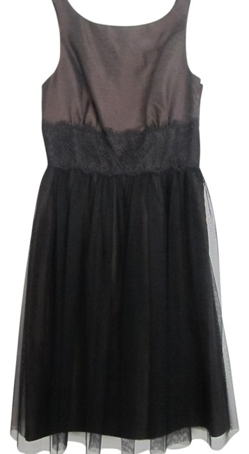 Preload https://item2.tradesy.com/images/democracy-brown-and-black-knee-length-cocktail-dress-size-2-xs-5924701-0-0.jpg?width=400&height=650