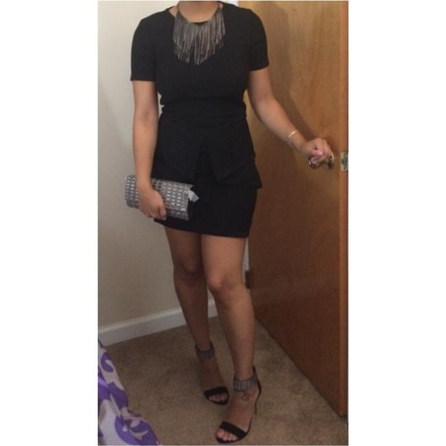 BCBGMAXAZRIA short dress Blac on Tradesy