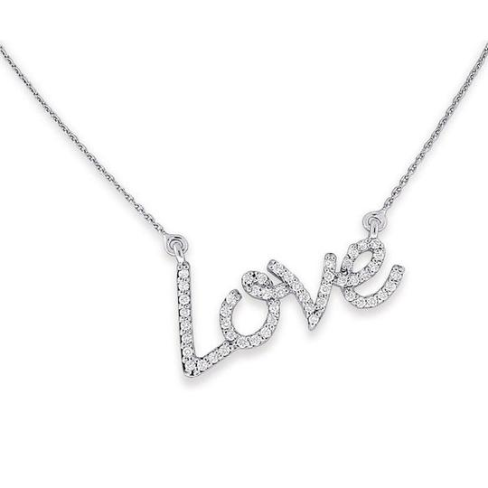 KC Designs KC Designs White Gold and Diamond LOVE