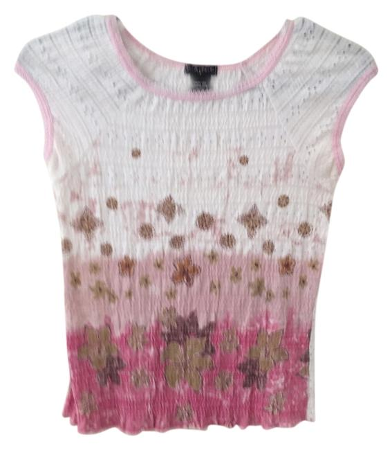 Fang Top White/Pink