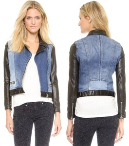 Genetic Denim Motorcycle Jacket