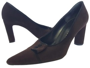 Richard Tyler Brown Pumps