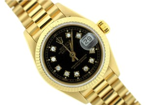 Rolex LADIES ROLEX PRESIDENTIAL DATEJUST 18K WATCH W/ ROLEX BOX & APPRAISAL