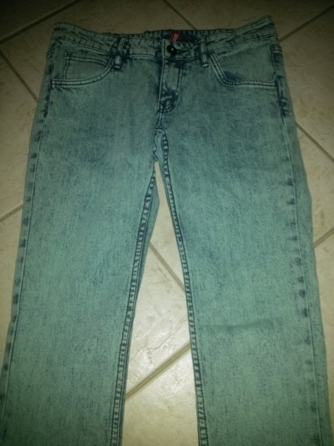 Divided by H&M Rocker Punk British Punk Stage Stage Wear Band Style H & M Skinny Jeans-Distressed