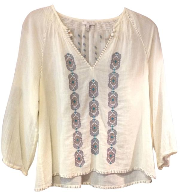 Preload https://item1.tradesy.com/images/joie-cream-mickey-blouse-size-4-s-5928145-0-0.jpg?width=400&height=650