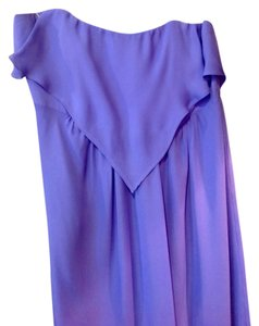 Purple Maxi Dress by Alice & Trixie Maxi & 100% Silk Strapless