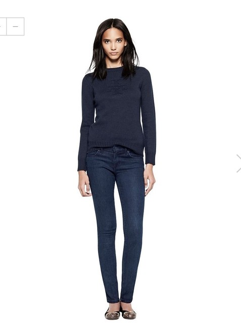 Tory Burch Jeggings-Dark Rinse