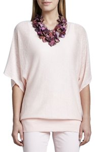 Eileen Fisher Linen Pink Knit Tunic