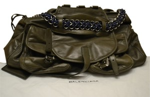 Balenciaga Satchel in Military Green