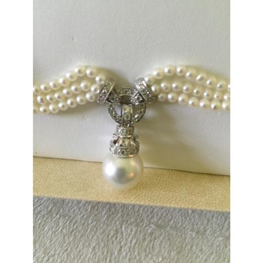 Quinn's Goldsmith Tahitian South Sea Pearl And Diamond Necklace Image 11