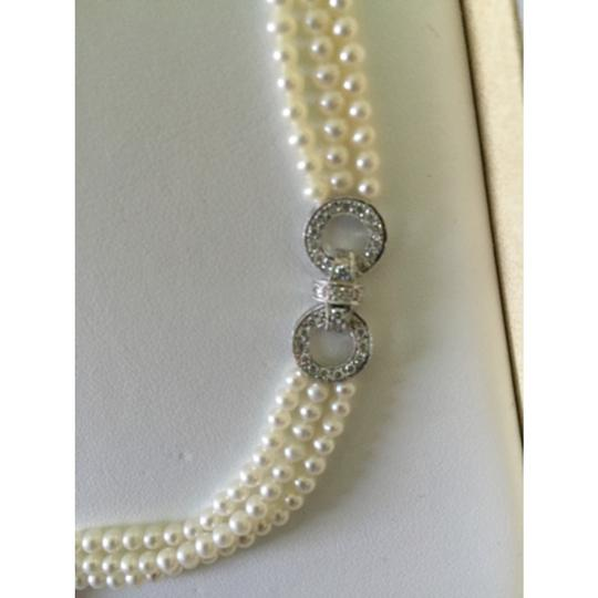 Quinn's Goldsmith Tahitian South Sea Pearl And Diamond Necklace Image 2