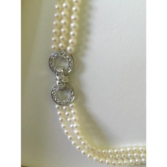 Quinn's Goldsmith Tahitian South Sea Pearl And Diamond Necklace