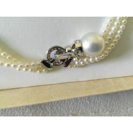 Quinn's Goldsmith Tahitian South Sea Pearl And Diamond Necklace Image 5