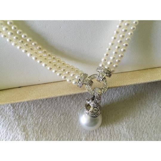 Quinn's Goldsmith Tahitian South Sea Pearl And Diamond Necklace Image 6