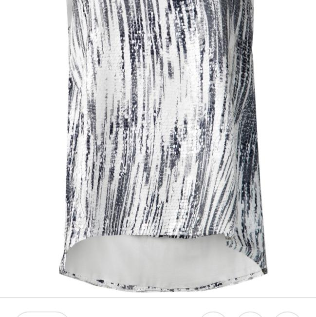 Kenzo Sequin Top Black and White Image 10