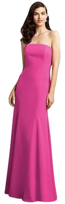 Item - Fuchsia 2935 Long Night Out Dress Size 22 (Plus 2x)