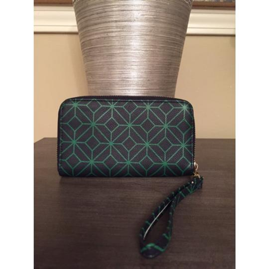 Other Wristlet in Blue Green Image 1