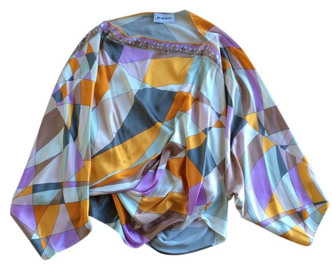 Emilio Pucci Top Multi-Color