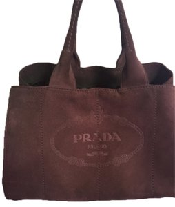 Prada Tote in Graphite