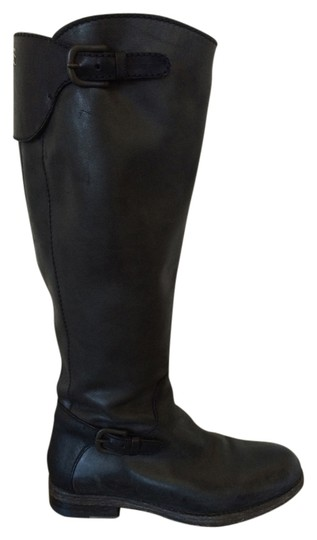 Henry Beguelin Leather Italian Black Boots