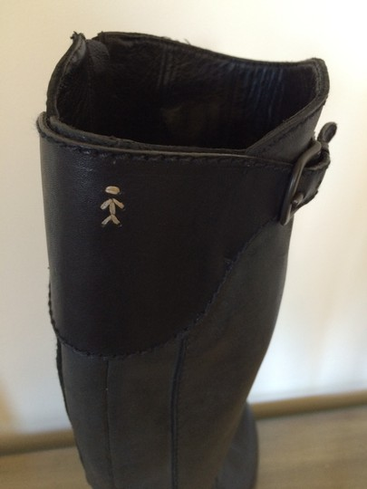 Henry Beguelin Leather Italian Black Boots Image 2