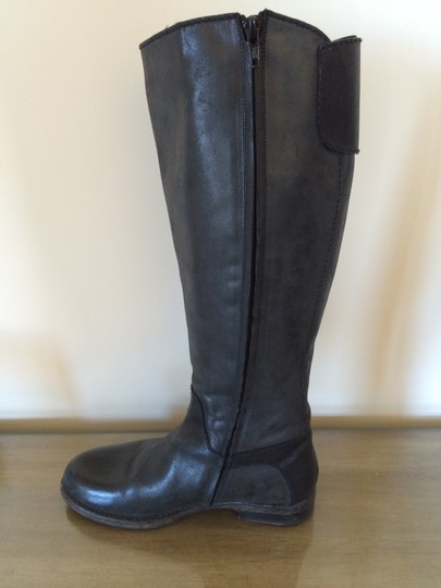Henry Beguelin Leather Italian Black Boots Image 3