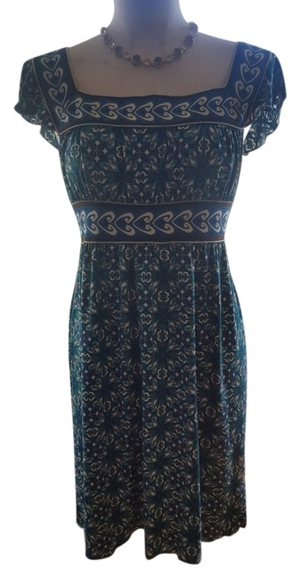 Preload https://img-static.tradesy.com/item/5930518/max-studio-teal-jersey-empire-waist-flutter-sleeve-print-above-knee-short-casual-dress-size-6-s-0-0-650-650.jpg