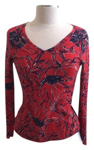 Lilly Pulitzer T Shirt Red/navy
