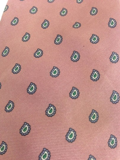Dior Christian Dior All Silk Pink Pattern Tie