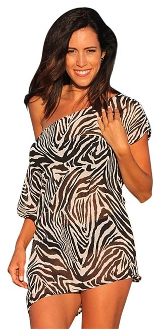 Preload https://item3.tradesy.com/images/ujena-zebra-sheer-tunic-swimsuit-slip-d501-beachwear-lounge-cover-upsarong-size-os-one-size-5930992-0-0.jpg?width=400&height=650