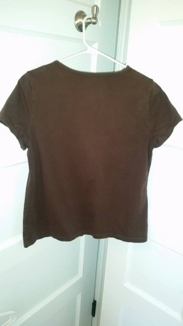 Croft & Barrow Top Brown