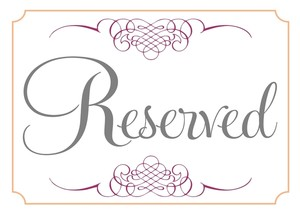 Other Reserved for Diane