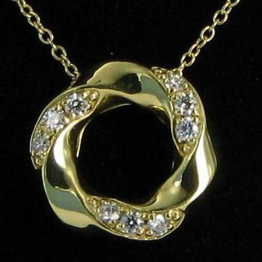 Hearts on Fire Hearts On Fire Atlantico Circle Diamond 0.26cts Pendant Necklace