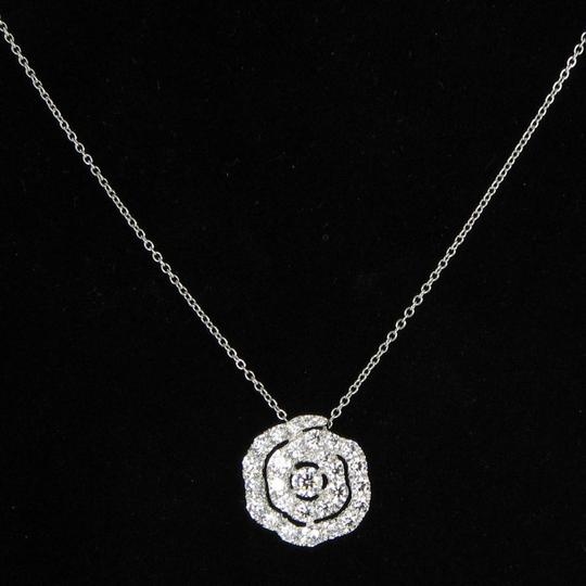 Hearts on Fire Hearts On Fire Lorelei Floral Diamond 1.74cts Pendant 18k Wg Necklace