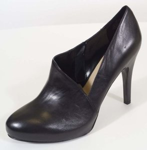 Nine West Verena Womens Leather Heels Black Boots