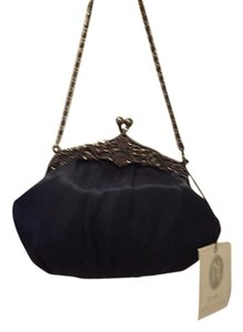 Jessica McClintock Navy Blue Clutch