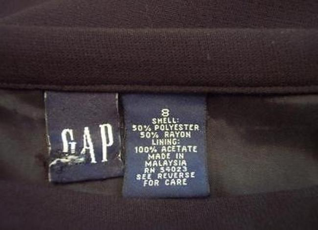 Gap Maxi Wrap Pencil Straight Casualor Career Skirt Black