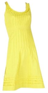 Tory Burch short dress Yellow on Tradesy