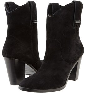 Burberry Fashion Italy Black / Suede Boots