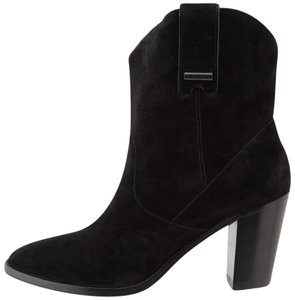 Burberry Fashion Suede Italy Black Boots