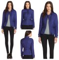Burberry London Blue Quilted Westcott Jacket Size 8 (M) Burberry London Blue Quilted Westcott Jacket Size 8 (M) Image 1