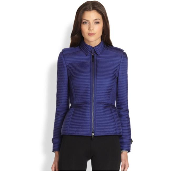 Burberry London Blue Quilted Westcott Jacket Size 8 (M) Burberry London Blue Quilted Westcott Jacket Size 8 (M) Image 2