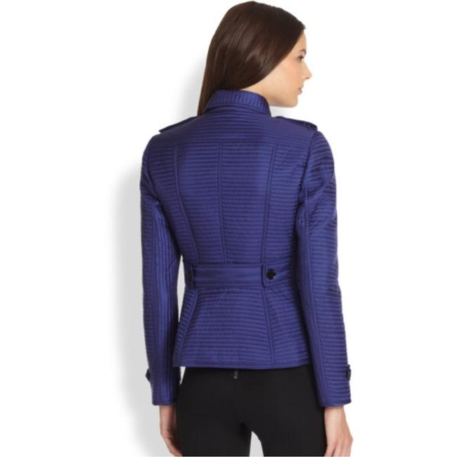 Burberry London Blue Quilted Westcott Jacket Size 8 (M) Burberry London Blue Quilted Westcott Jacket Size 8 (M) Image 3