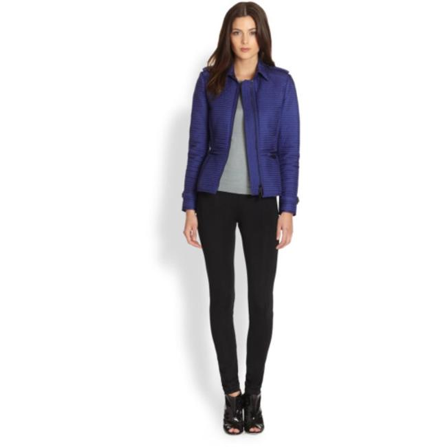 Burberry London Blue Quilted Westcott Jacket Size 8 (M) Burberry London Blue Quilted Westcott Jacket Size 8 (M) Image 4