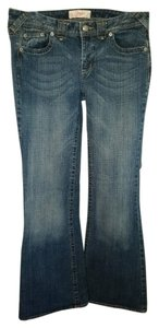 Candie's Flare Leg Jeans-Medium Wash