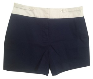 Lacoste Shorts white and dark blue