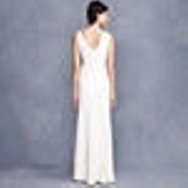 Item - Ivory Other Sophia Gown In Tricotine Casual Wedding Dress Size 16 (XL, Plus 0x)