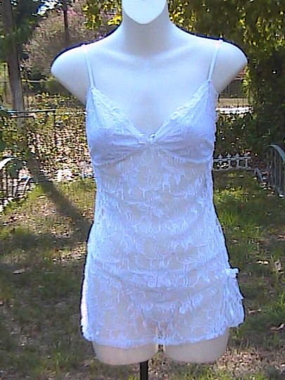 White Lace 2 Pc Lingerie
