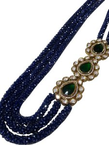 Royal Blue Statement Necklace
