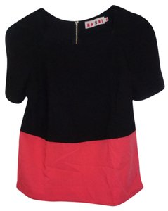 Marni Top Black and Red